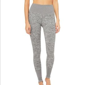 ALO High-Waist Lounge Legging - Small in Grey